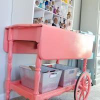 Vintage Cart Makeover