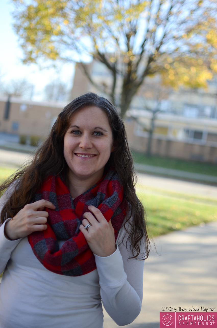 flannel infinity scarf