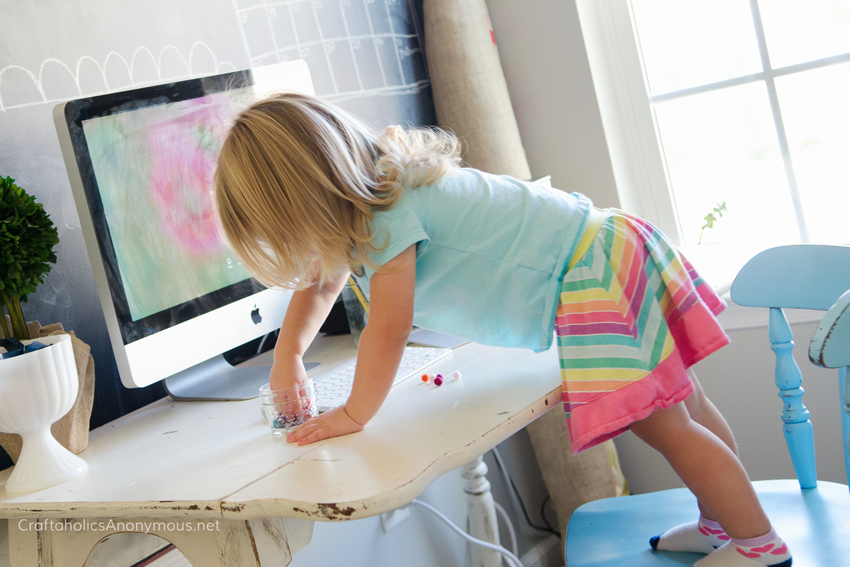 kid-in-craft-room