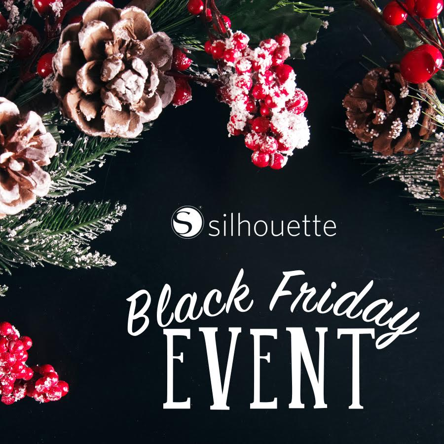 Silhouette Black Friday sale info. Use code: CRAFT