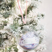 DIY Baby's First Christmas Ornament