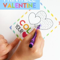Printable Kid's Valentine