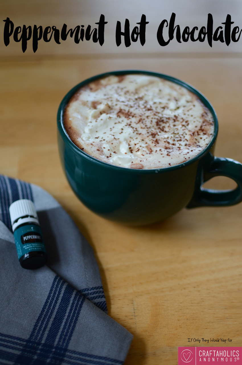 The best peppermint hot chocolate recipe ever