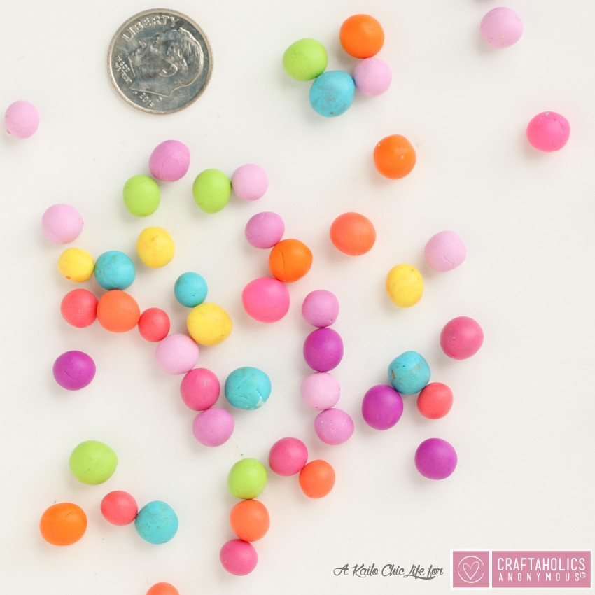 how to make a polymer clay necklace