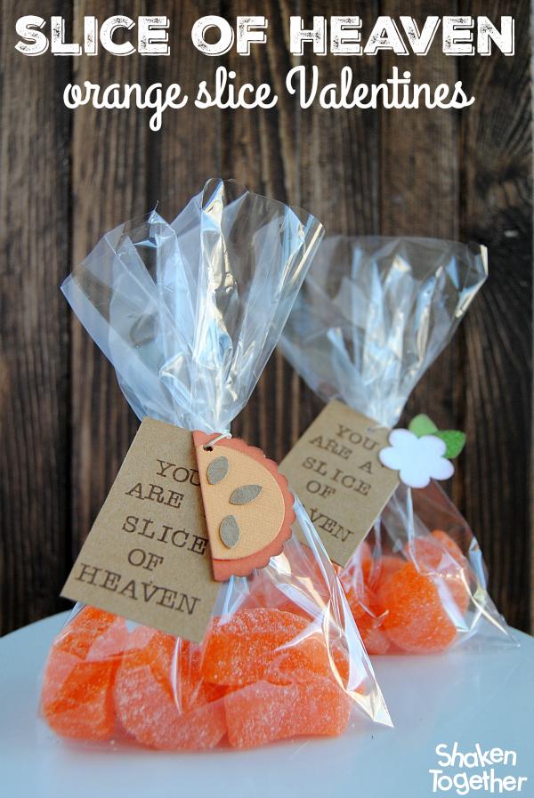 Orange Slice Valentine