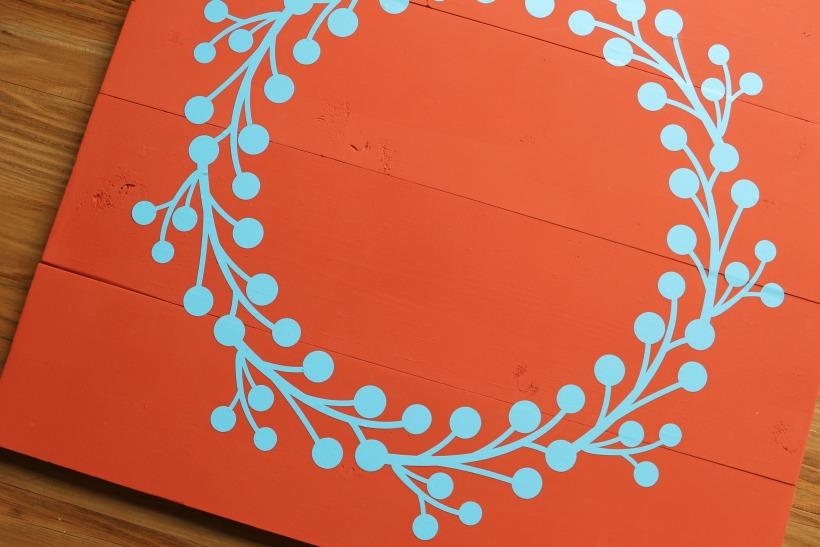 pallet wreath tutorial