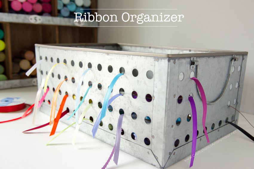 Easy Ribbon Organizer