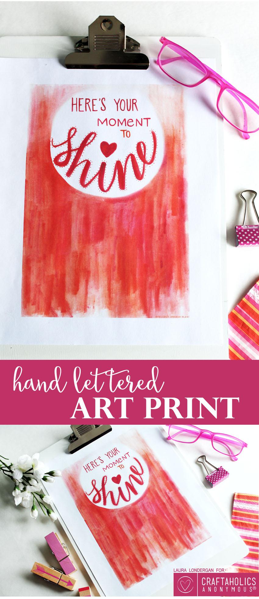 Moment to Shine Art Print