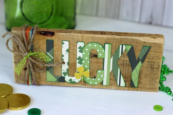 St. Patrick's Day Pallet wood sign