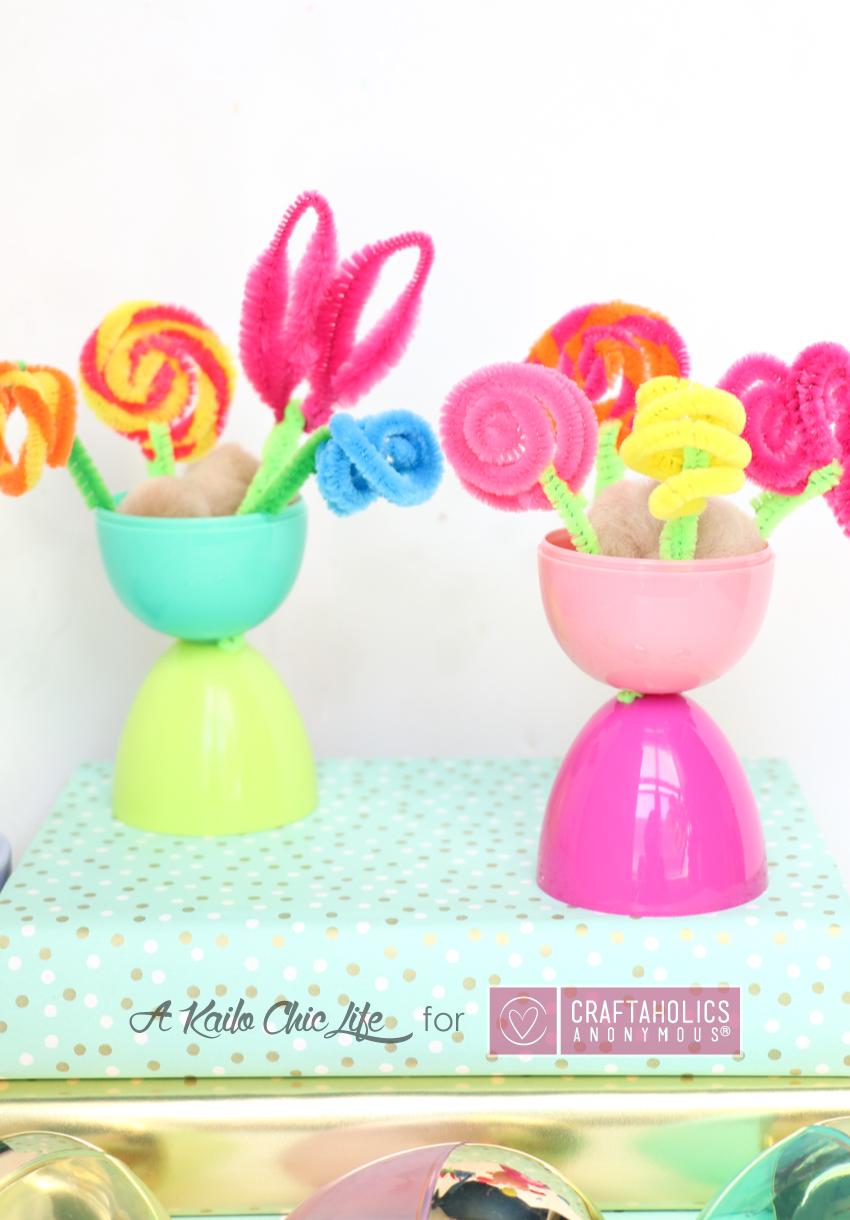 Kid Friendly Spring Flower Vases