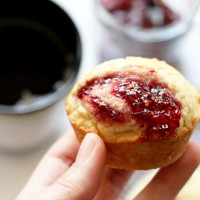 Easy Jam Filled Muffins