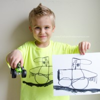 How to Turn Kids Artwork into a T-shirt