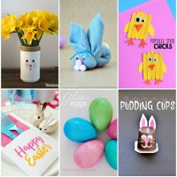 Last Minute Easy Easter Crafts!