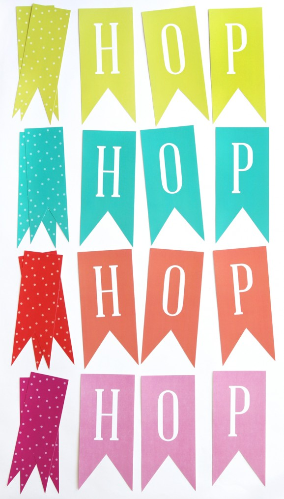 free easter printable banner