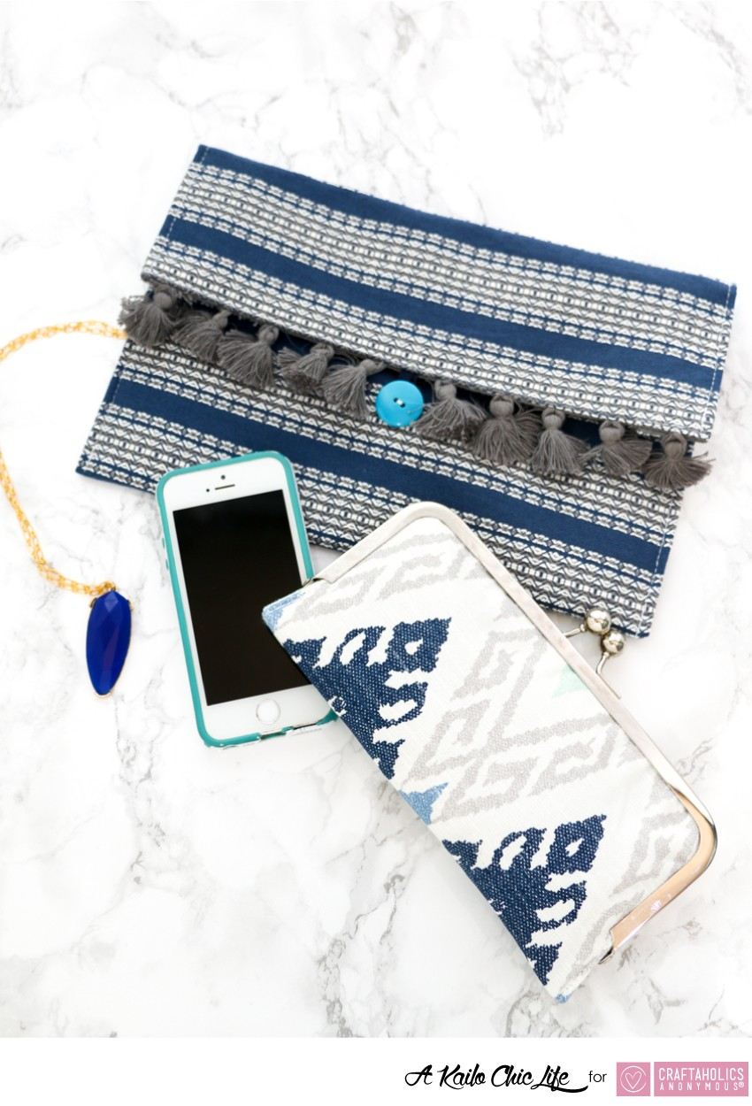 DIY Placemat Clutch for Mother's Day