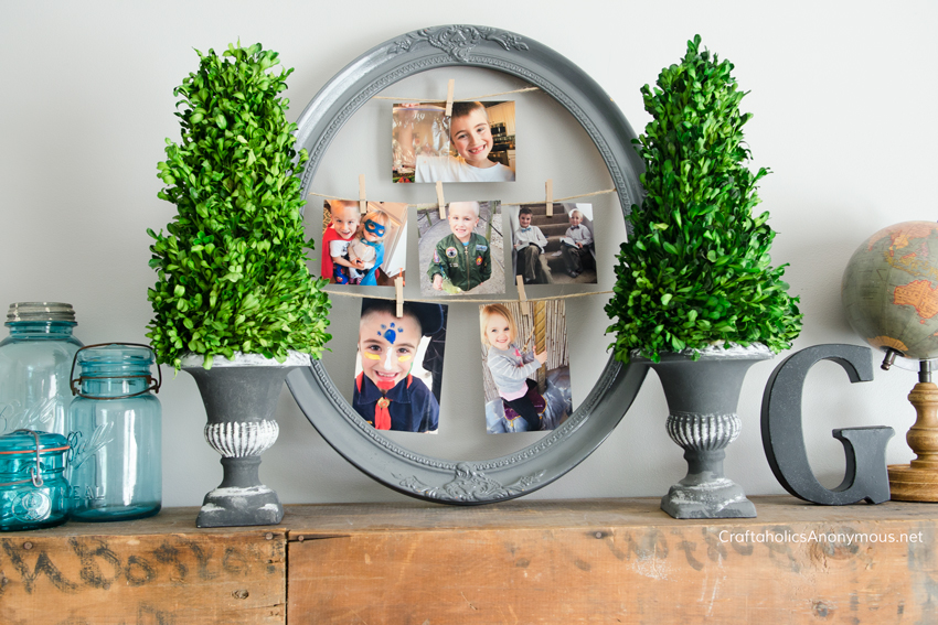 How to decorate with photos