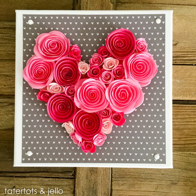 pretty paper craft for mother's day
