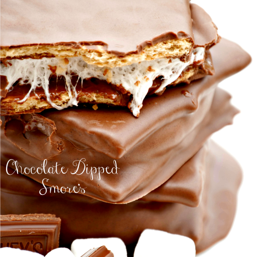 Chocolate Dipped S'mores