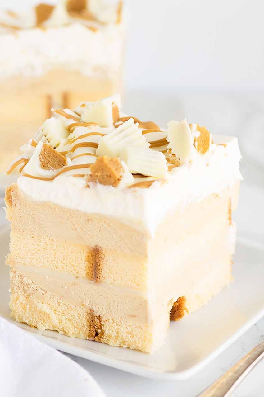 peanut butter white chocolate pie no bake desserts