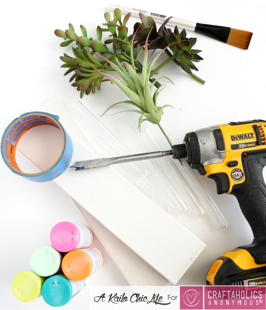 easy bud vase tutorial