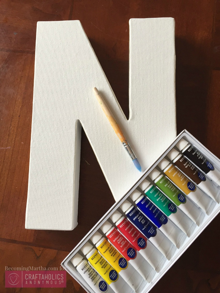 easy watercolor craft