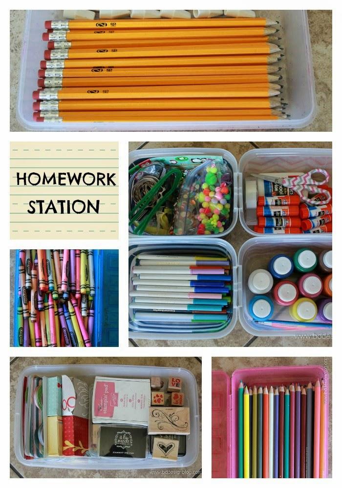 Back to School Organization 16