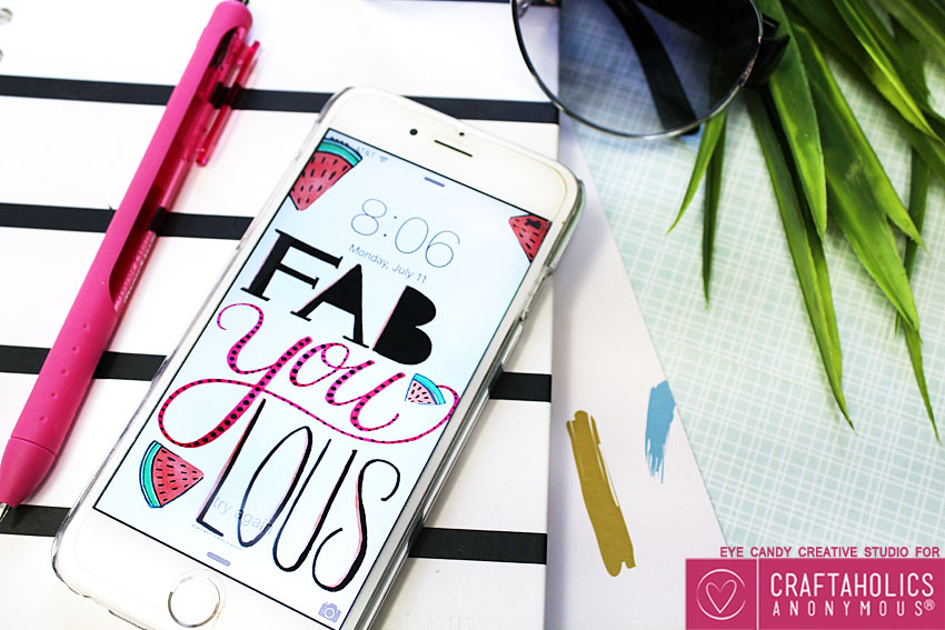 fabYOUlous cell phone wall paper