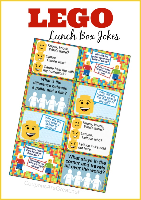 lego lunch box notes