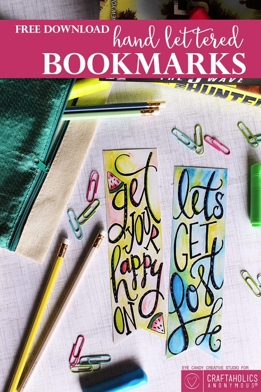 Free Printable Bookmarks