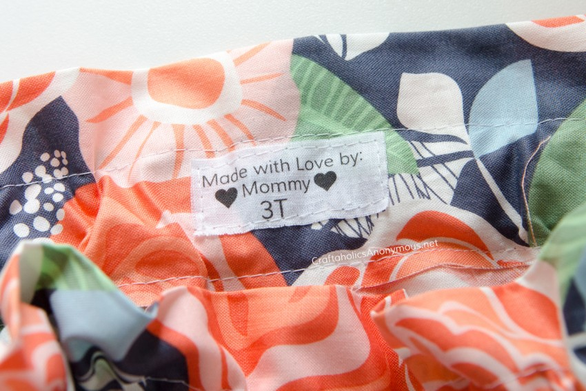 DIY Fabric Labels tutorial