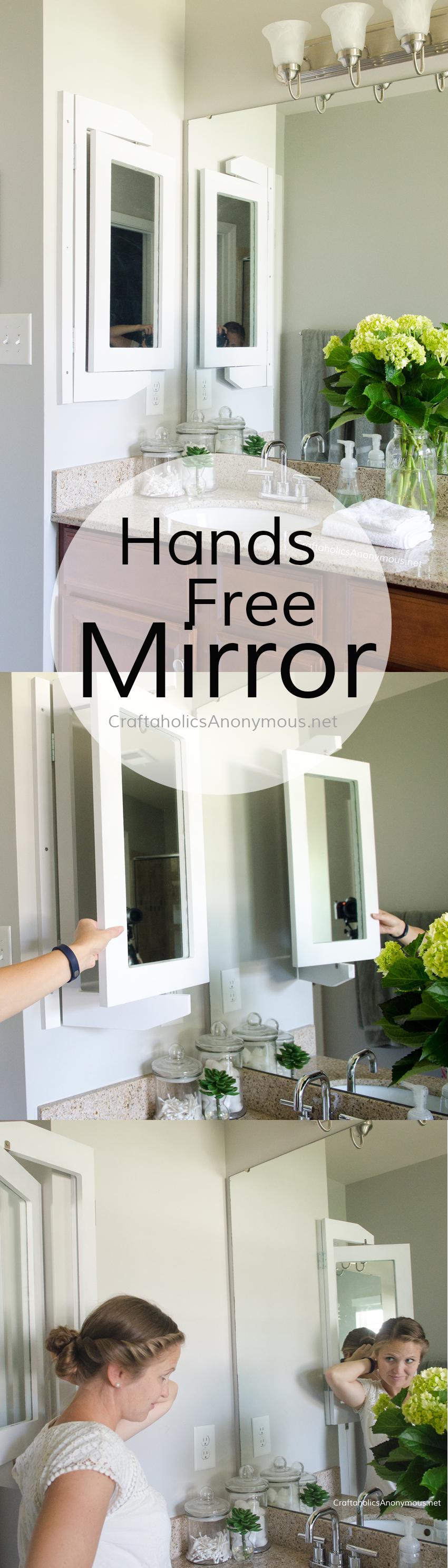 DIY Hands Free Mirror