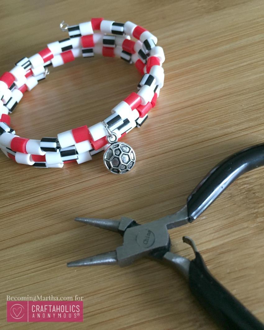 customizable charm bracelet