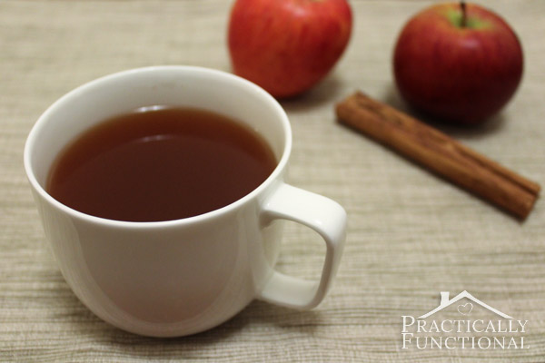 Caramel Apple Spice in the Slow Cooker