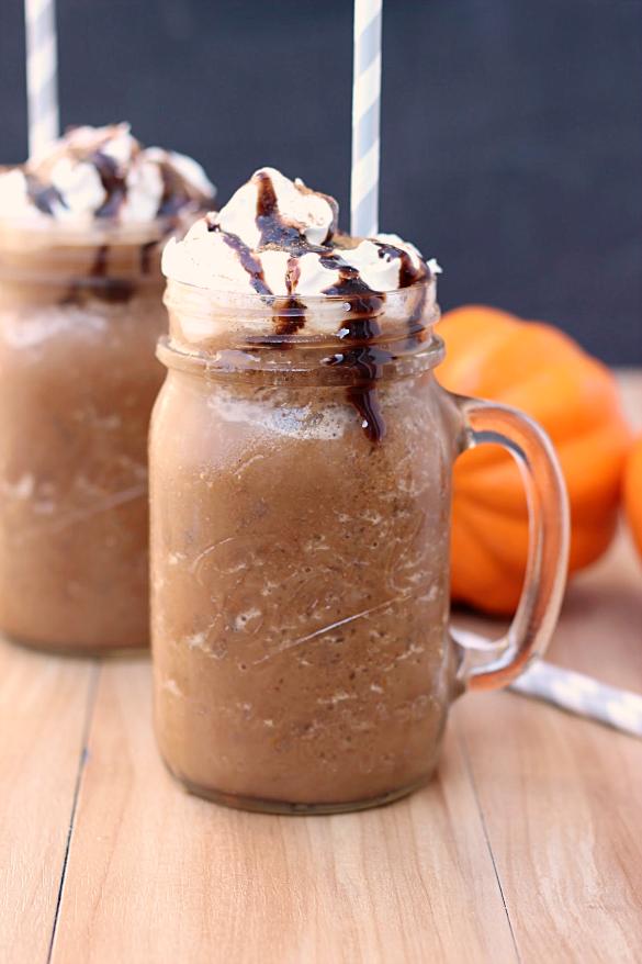 Pumpkin Mocha Frozen Coffee