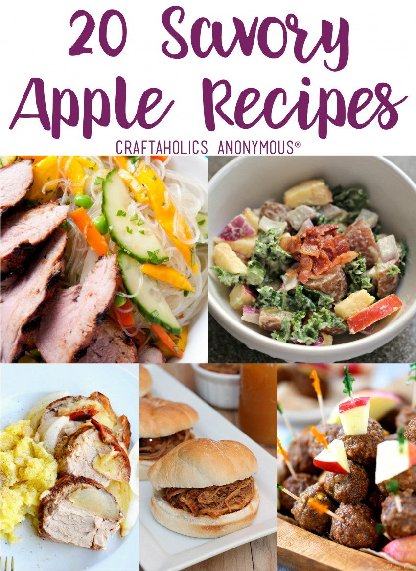 20 Savory Apple Recipes for Fall