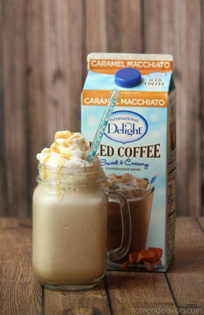 Frozen Caramel Macchiato Iced Coffee