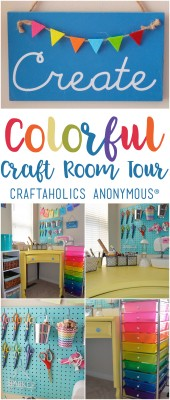 Craft Room Tour with Coastal & Crafty