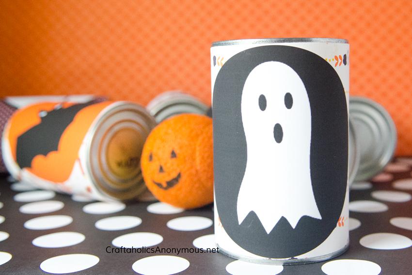 DIY Halloween Game idea - bowling