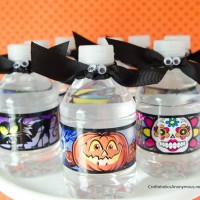 Halloween Bat Water Bottle Topper