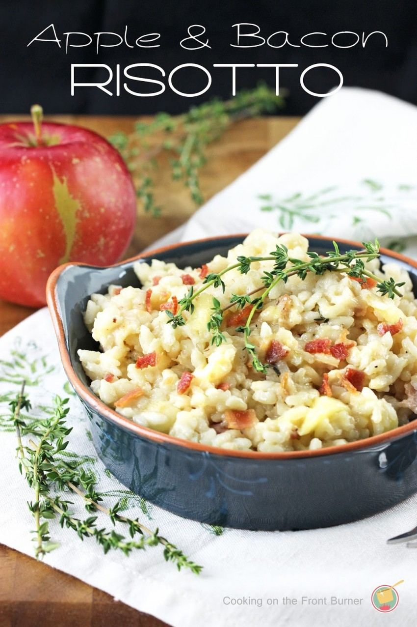 risotto apple recipe
