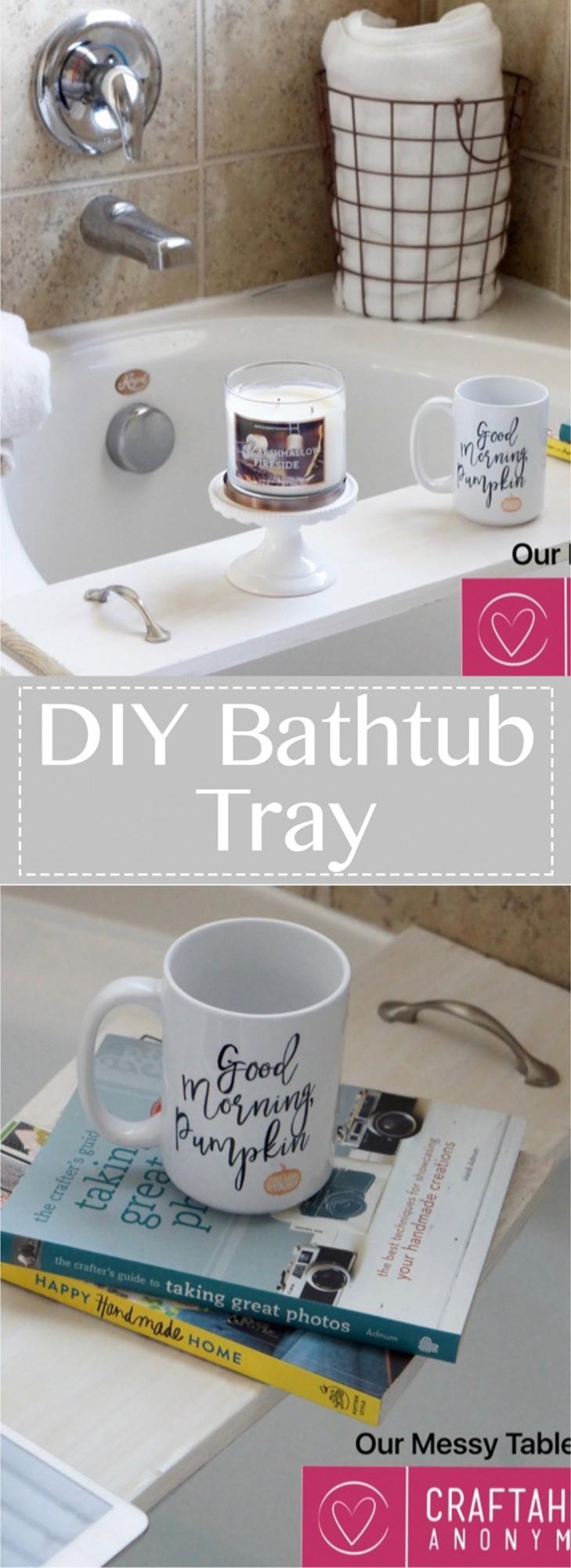 diy-bathtub-tray
