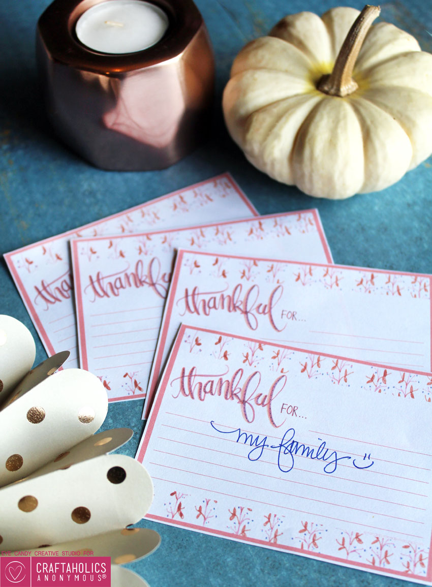 thankful for cards free printable