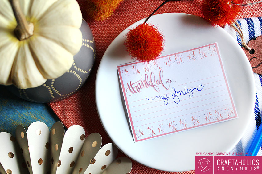 free thanksgiving printable thankful cards