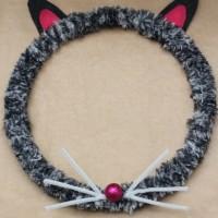Cat Halloween Wreath