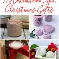 Easy Homemade Spa Products for Christmas Gifts