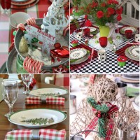 25 Beautiful Christmas Tablescapes