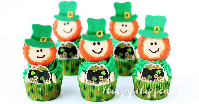 8 St. Patrick's Day Cupcakes Hungry Happenings
