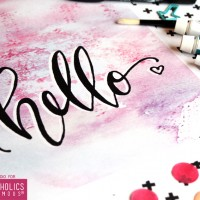 FREE Printable Hello Art Print