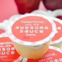 Applesauce Valentine Printable