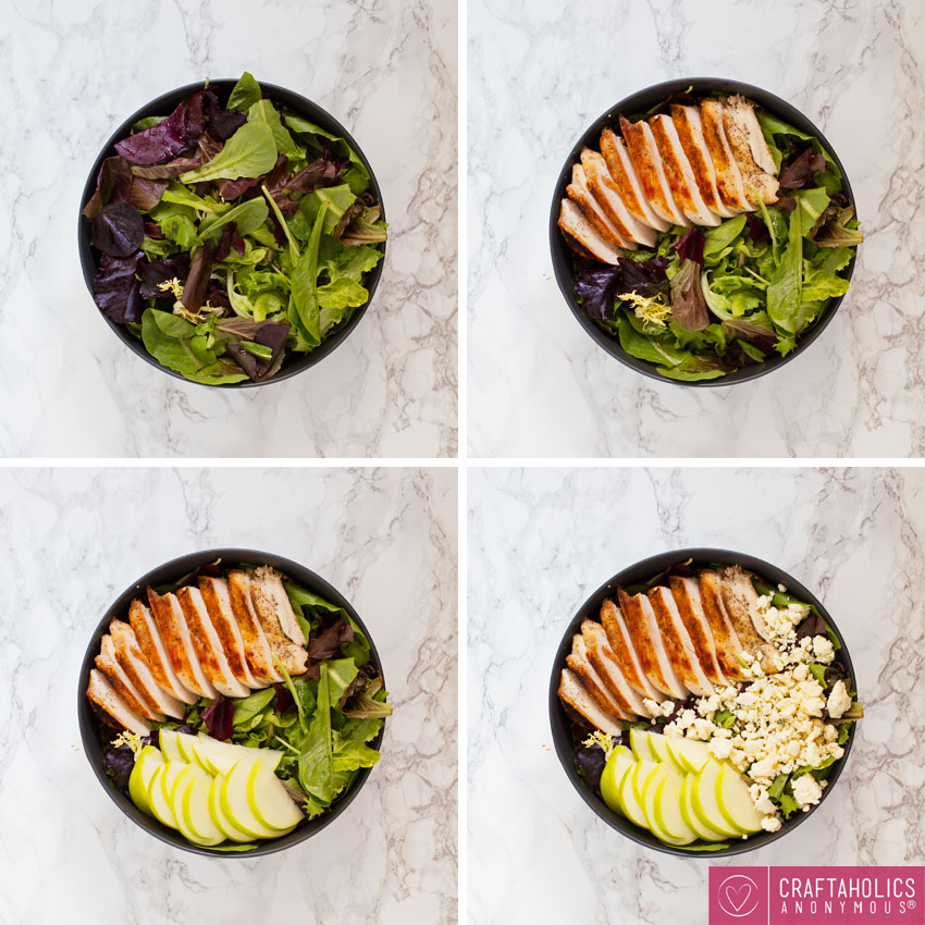 a new twist on a simple salad